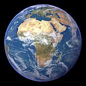 Africa,satellite image