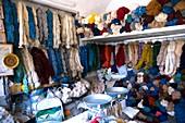 Wool shop,Iran