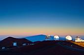 Observatories on Mauna Kea