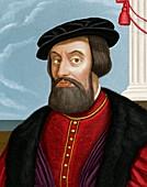 Hernan Cortes,Spanish conquistador