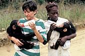 Chimpanzee conservation centre,Congo