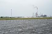 Hurricane Ike flood waters,2008
