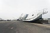 Hurricane Ike damage,2008