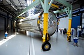 Ariane 5 cryogenic tank transportation
