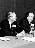 Alvarez and Schawlow,US physicists