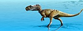 Monolophosaurus,artwork