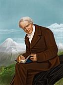 Alexander von Humboldt,German naturalist