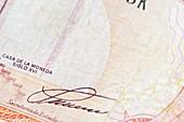 Dominican Republic banknote