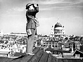 WWII aircraft spotter,London
