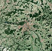 Berne,Switzerland,satellite image