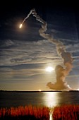 Endeavour shuttle launch,mission STS-126