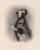 Ada Countess of Lovelace,mathematician