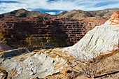 Old copper mine at Bisbee