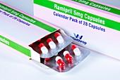Ramipril blood pressure drug