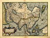 Ortelius's map of Asia,1570