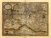 Ortelius's map of Austria,1570