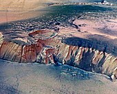 Echus Chasma,Mars,satellite image