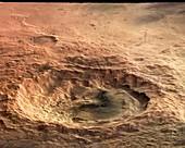 Maunder Crater,Mars,satellite image
