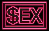Sex industry,conceptual image