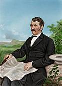 David Livingstone,Scottish explorer