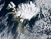 Eyjafjallajokull eruption,April 2010