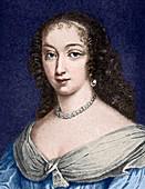 Marguerite de la Sabliere,arts patron