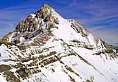 Mt. Blanc,peak,horn,strata,Alps