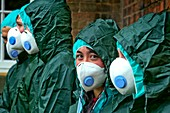 Chemical contamination simulation