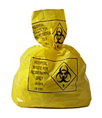 Clinical waste bag