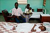 Sleeping sickness patient,Congo