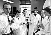 Robert William Holley,US biochemist