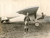 Charles Lindbergh and Spirit of St Louis