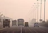 Traffic air pollution