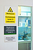 Level 3 containment laboratory