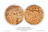 Schiaparelli's map of Mars,1877-1888
