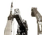 Mercury-Atlas 6 launch preparation