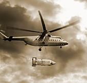 Vostok spacecraft transportation