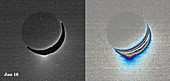 Enceladus,Cassini images