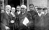 C. V. Raman and Soviet physicists