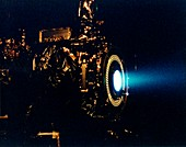 Ion engine test firing,1998
