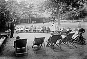 Open-air school,historical image