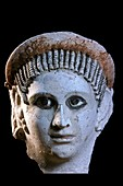 Funerary mask,Alexandria