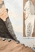 1823 Red Lady of Paviland paleo human CU