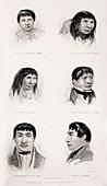 Fuegians - Fitzroy's Beagle Portraits a