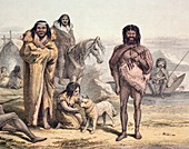 Natives of Patagonia Darwin's Voyages