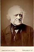 1860's Charles Lyell portrait photo cdv