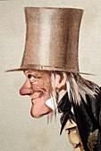 1873 Richard Owen Vanity Fair CU portrait
