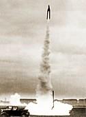 Tiling rocket launch,1930s