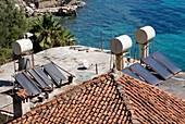 Solar water heating system in Turkey