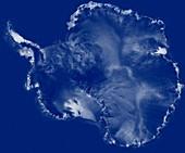 Antarctica,RADARSAT image